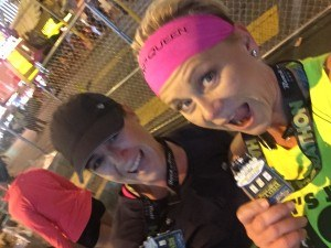 I had the HONOR of running with my friend and client Lindsay - her FIRST Half Marathon!!!